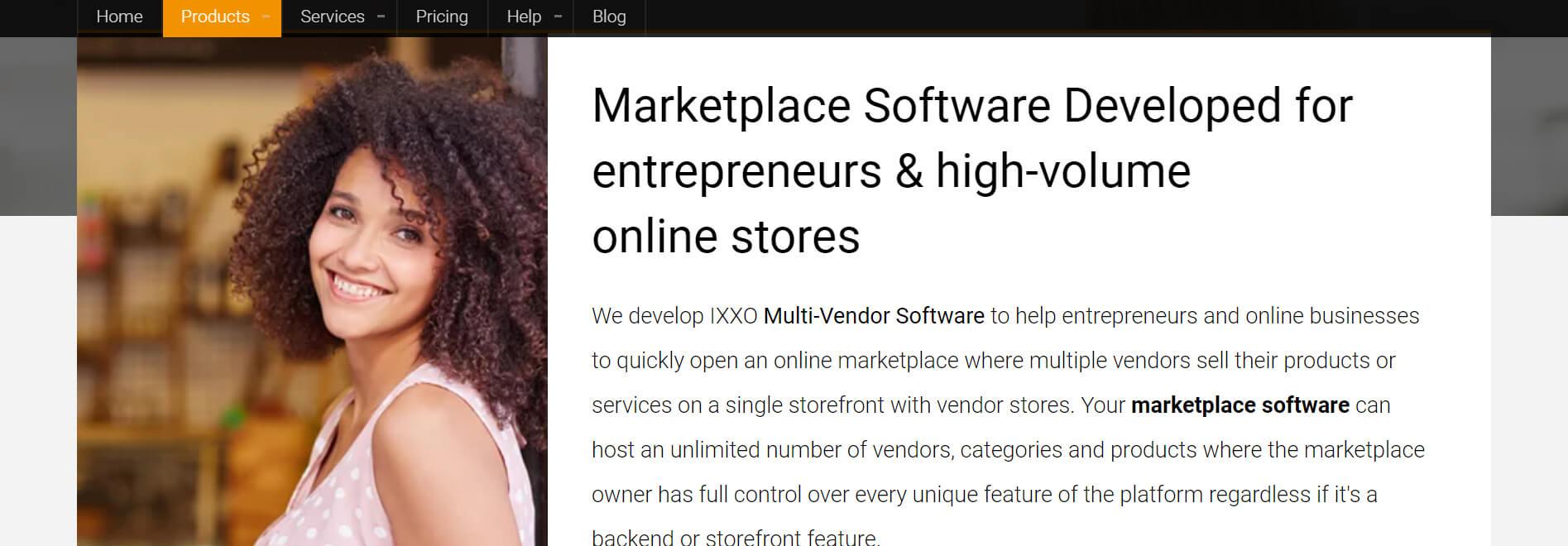 IXXOCart Multi Vendor Platform & Shopping Cart Solution & Ecommerce Software