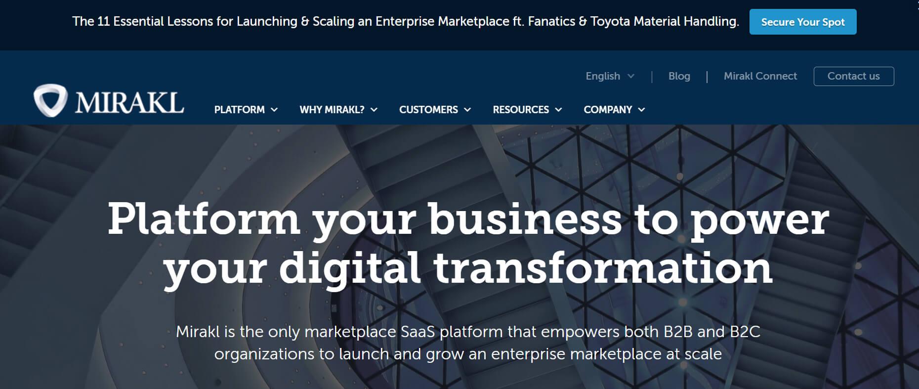 mirakl marketplace platform