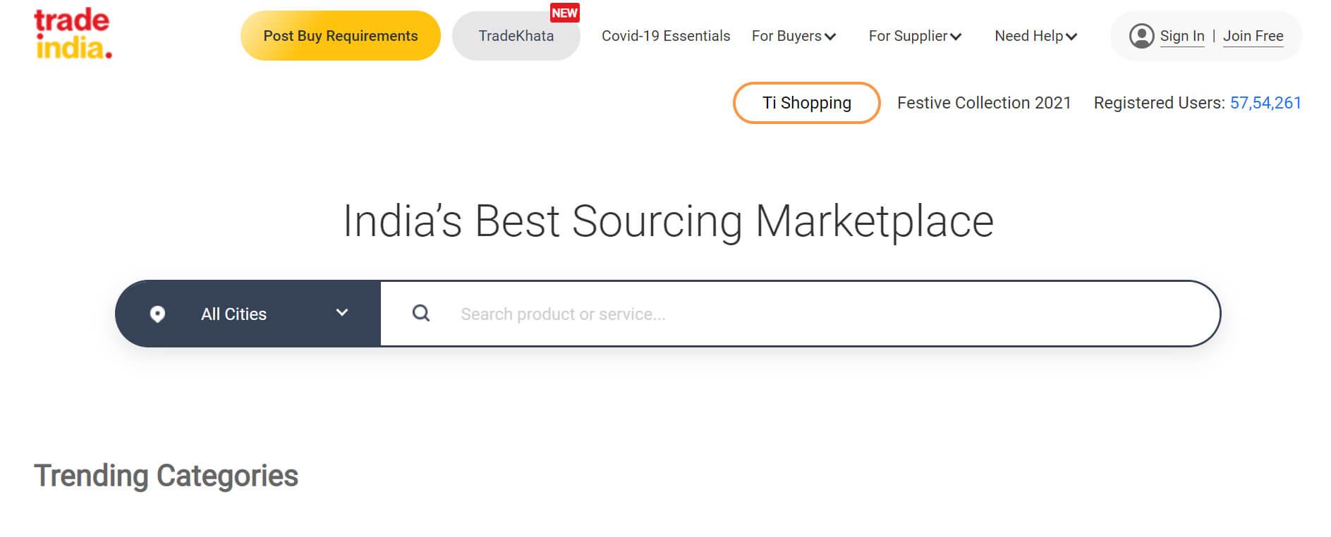 tradeindia marketplace