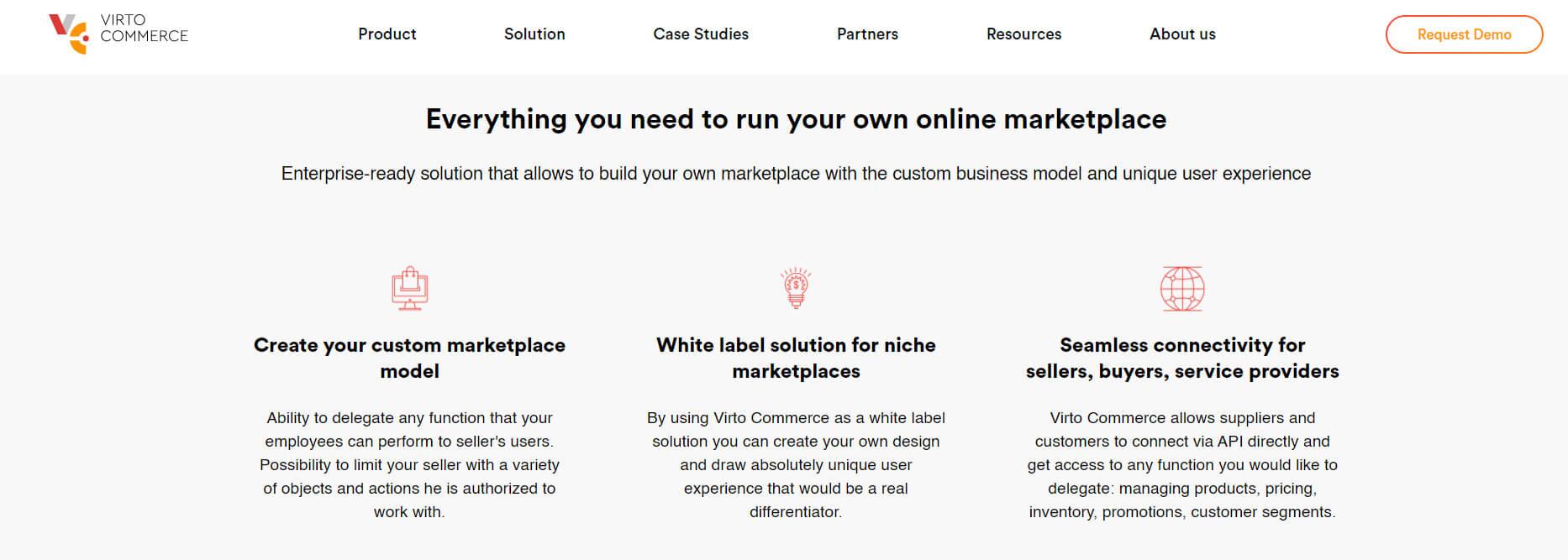 Virto Commerce Marketplace Extension