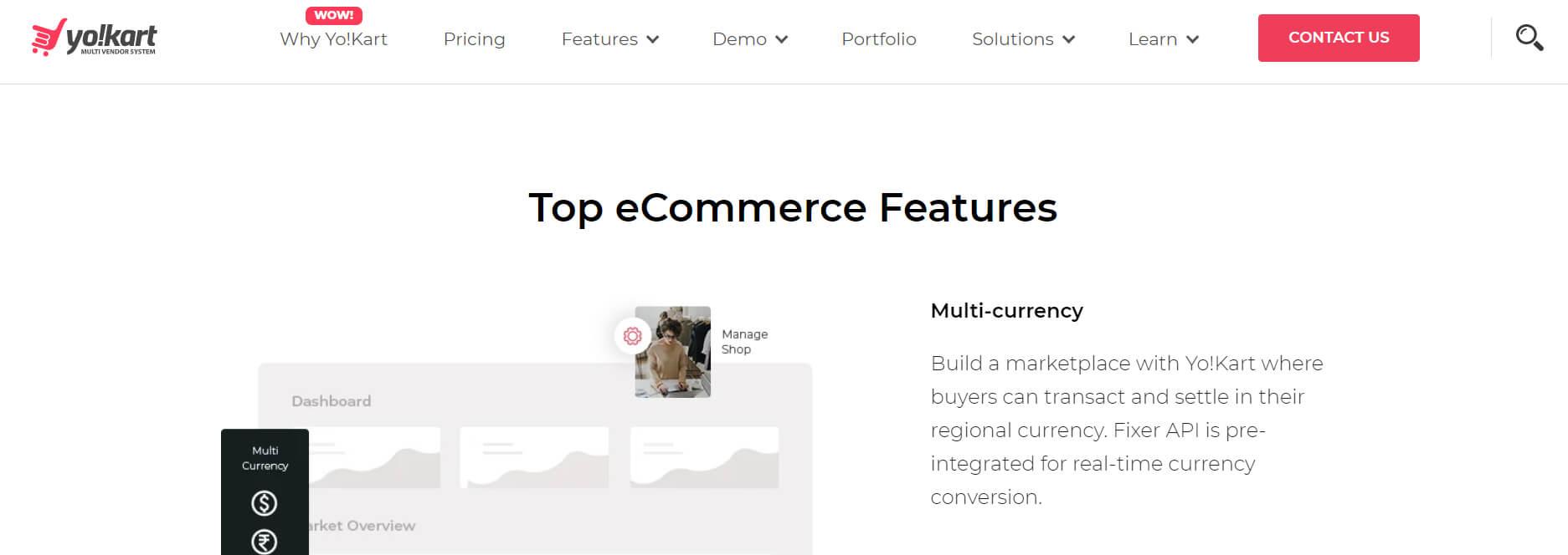Yo!Kart Multi Vendor Marketplace Ecommerce Software